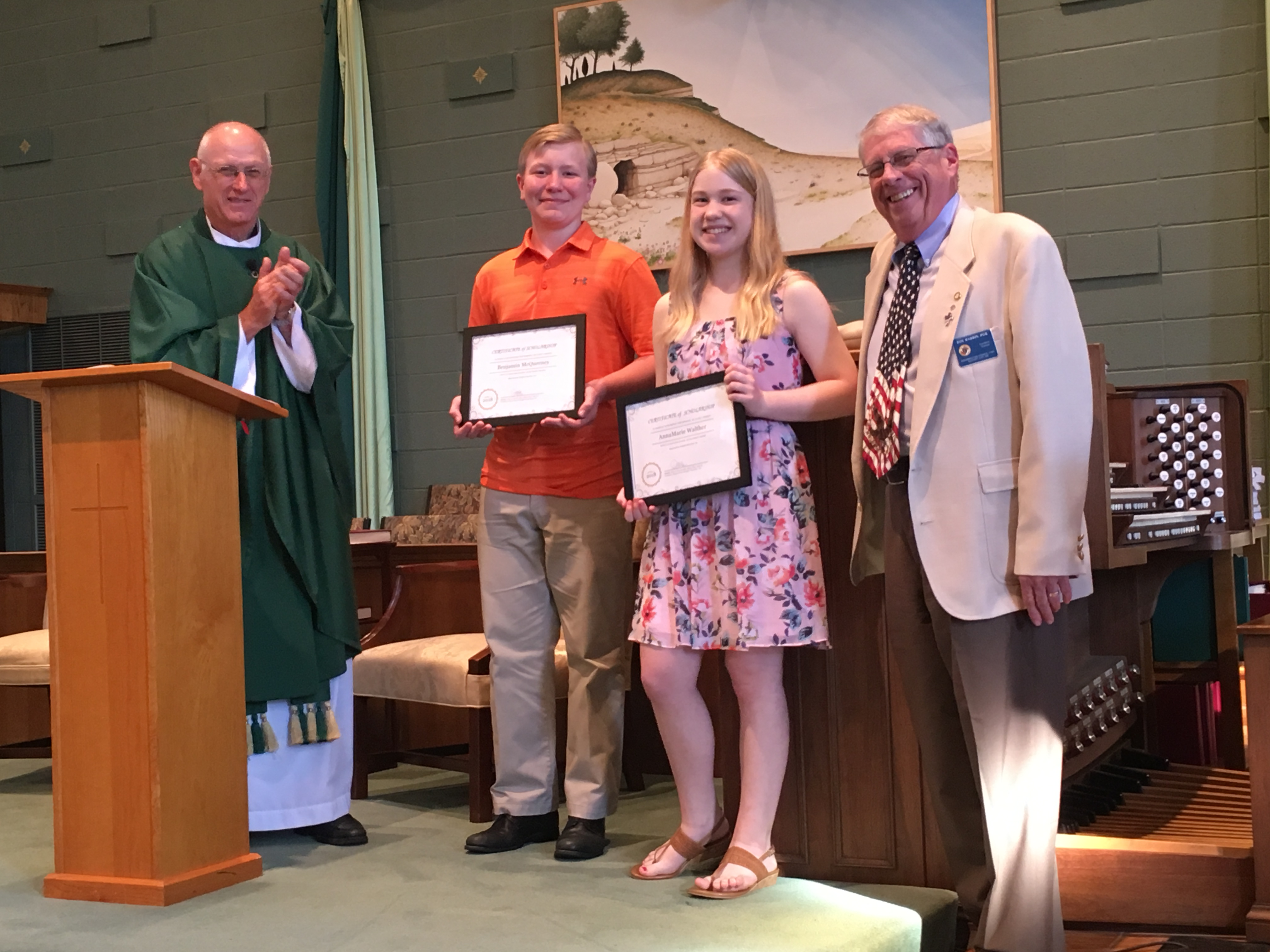 2018 RKCI Scholarship Winners