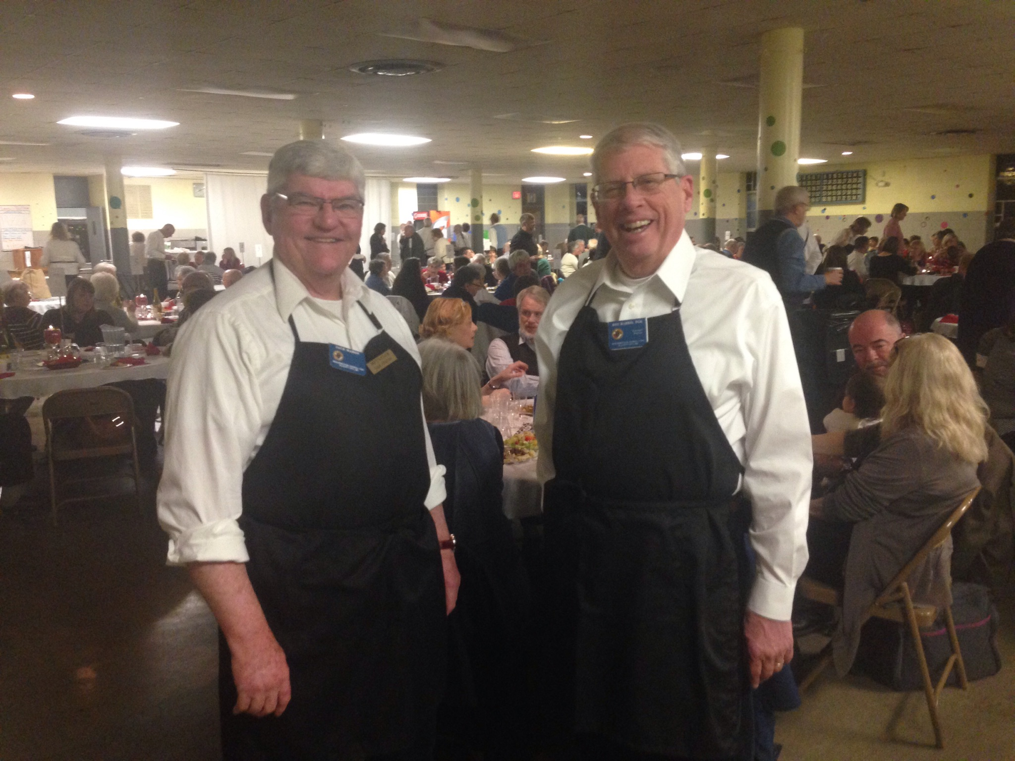 Jack Mahon Roy Harris waiting tables food for soul dinner