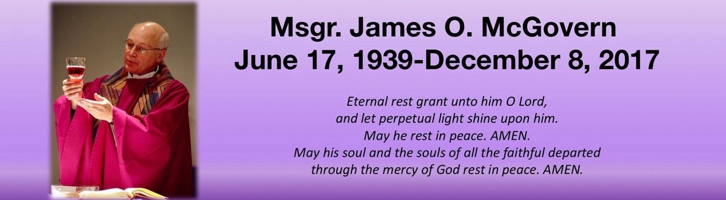 Msgr. James O. McGovern