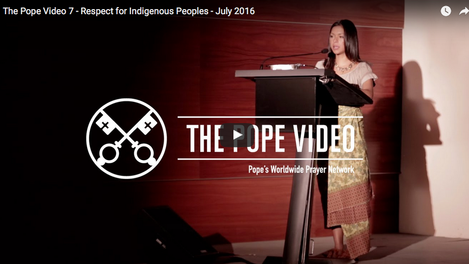 Respect for Indigenous Peoples - July 2016