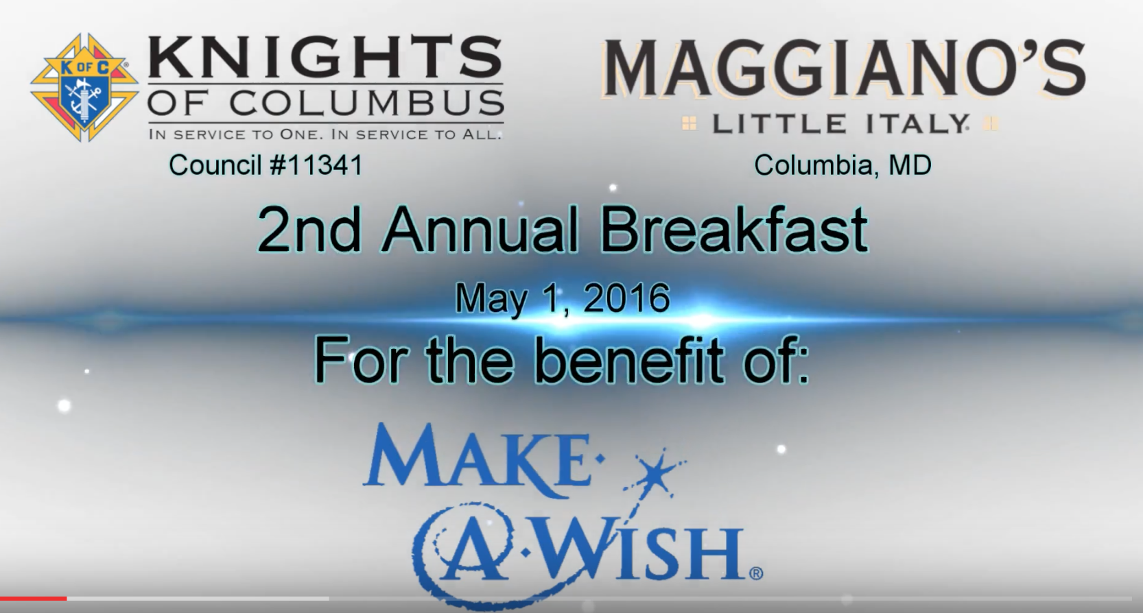 2nd Annual Make a Wish Breakfast