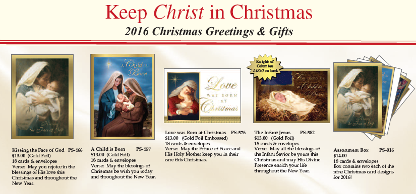 Keep Christ in Christmas Cards