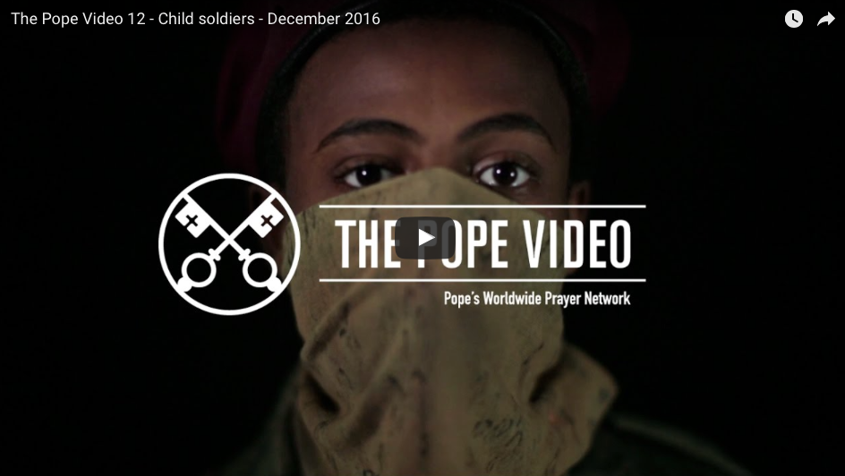 Universal Intention - End to Child-Soldiers: