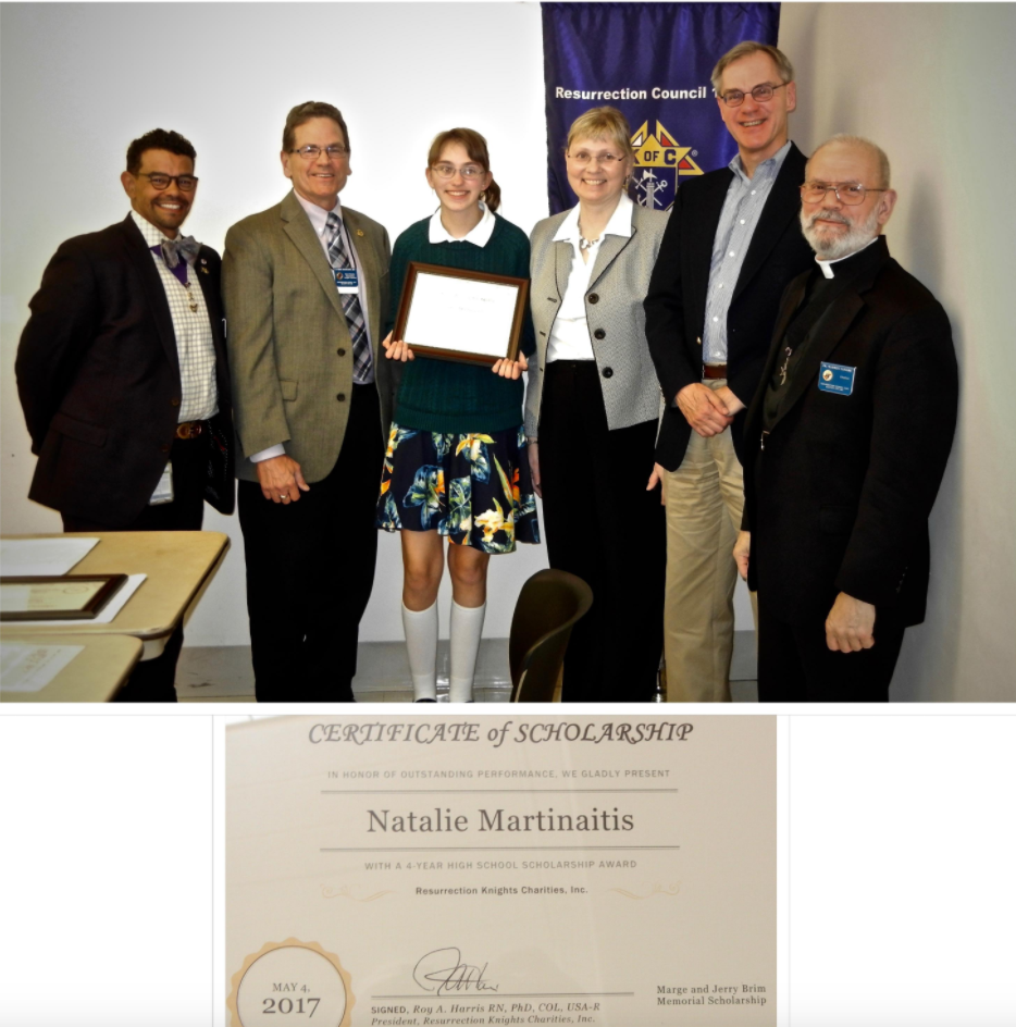 Natalie Martinaitis Scholarship Ceremony